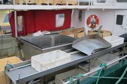 Utstyr inne i båten