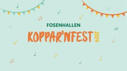 Kopparnfest 2019 i Fosenhallen, logo
