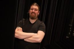 Christer Harøy med armene i kors